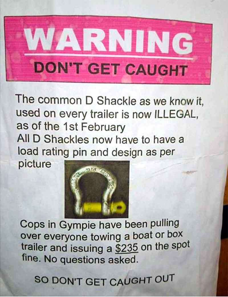 D-shackles