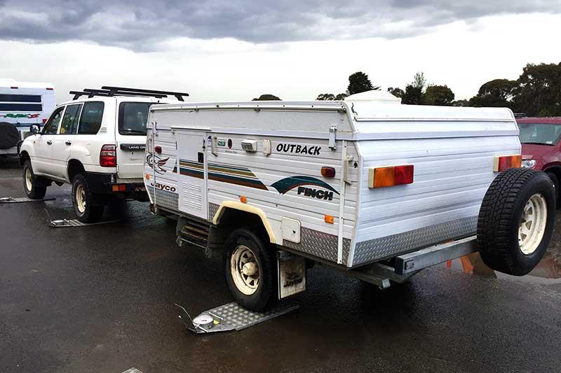 Caravan safety