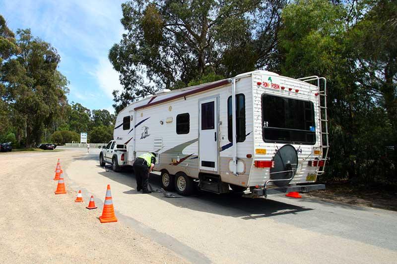 Police Roadside Caravan Safety Inspections - GoRV