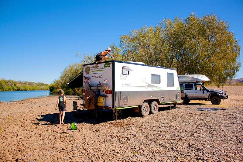 caravan water