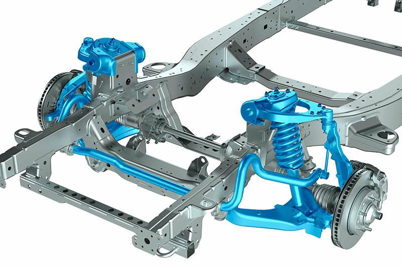 4WD suspension